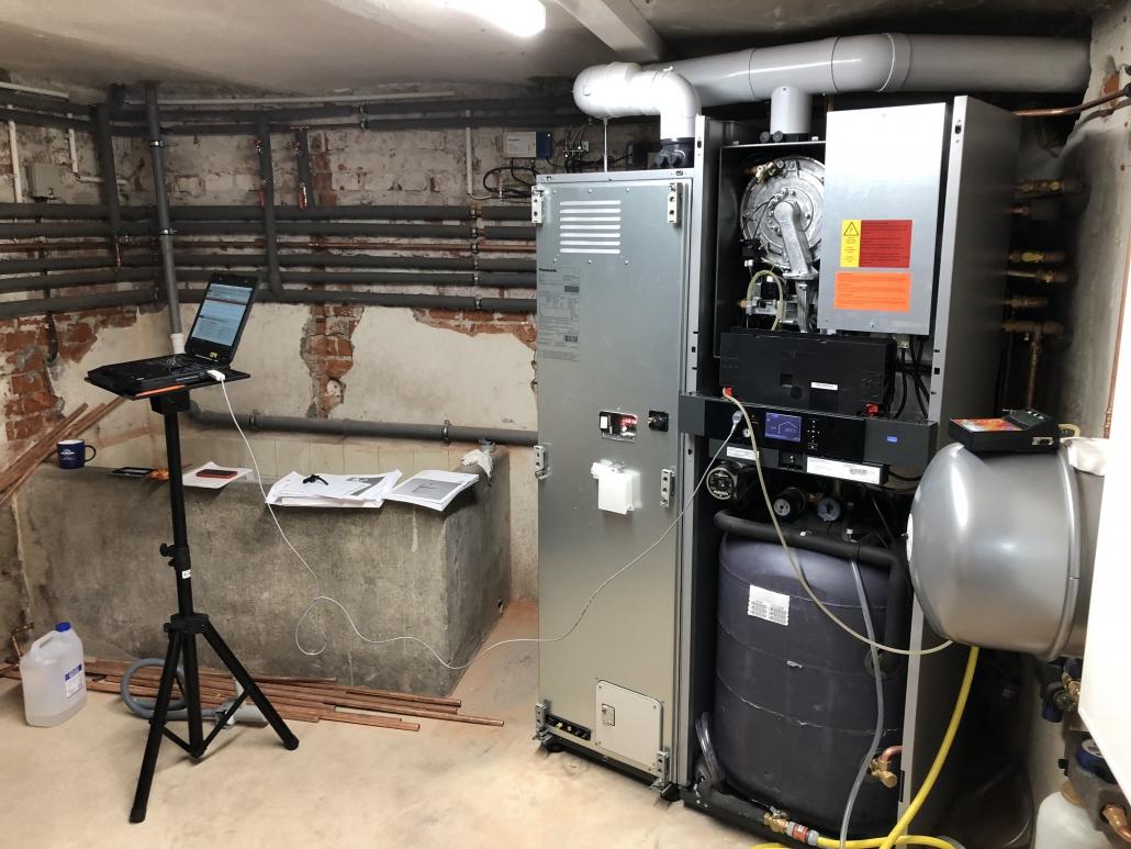 Inbetriebnahme Brennstoffzelle