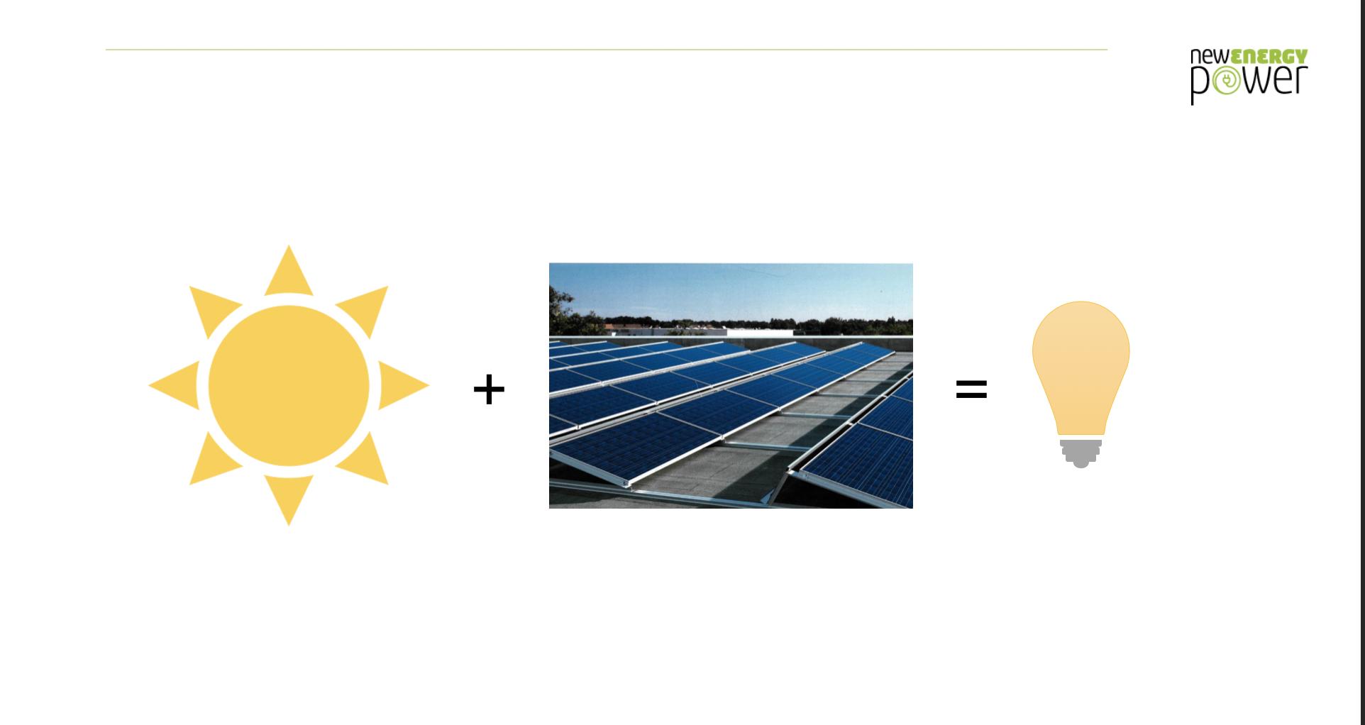 Photovoltaik und Sonne